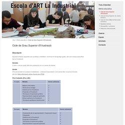 Escola d'Art La Industrial Barcelona, estudis d'arts plàstiques i disseny