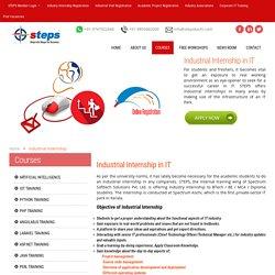 Industrial internship registration