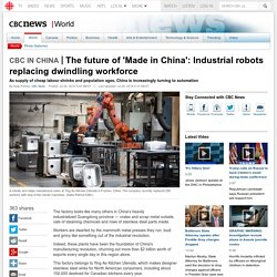 The future of 'Made in China': Industrial robots replacing dwindling workforce