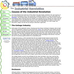 The Industrial Revolution - Causes