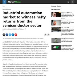 Industrial automation market to witness hefty returns from the semiconductor sector