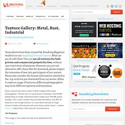 Texture Gallery: Metal, Rust, Industrial - Smashing Magazine