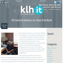 BCS Industrial Solutions, Inc. Client of the Month