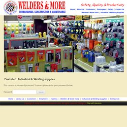 Industrial & Welding supplies - Welding & Industrial Supplies Stafford Texas, Houston