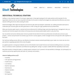 Industrial And Technical Staffing