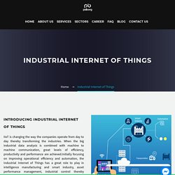 Industrial Internet of Things - PsiBorg Technologies Pvt. Ltd.