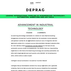 Industrial Tools & Technology