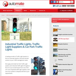Automate Industrial Traffic Lights