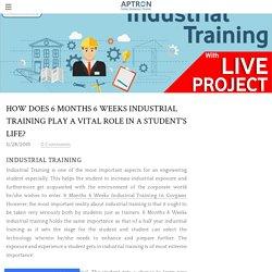 6 Months 6 Weeks Industrial Training in Gurgaon