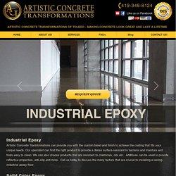 Industrial Epoxy, Artistic Concrete Transformations of Toledo