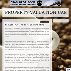 Reasons for the Need of Industrial Valuation Services for Your Business