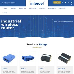 Industrial Wireless Modems & Routers
