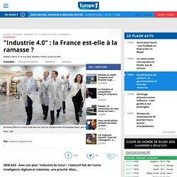 """""""Industrie 4.0"""" : la France est-elle à la ramasse ?"""