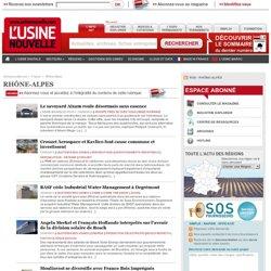 Industrie en Rhône-Alpes – Actualités par région
