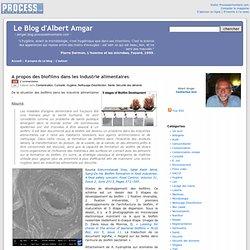 A propos des biofilms dans les industrie alimentaires