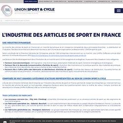 L'Industrie des articles de sport en France