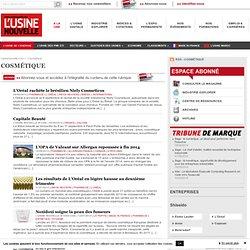 Industrie Cosmétique – Année 2014