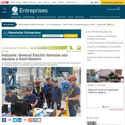 Industrie. General Electric féminise ses équipes à Saint-Nazaire