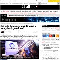 Est-ce le Game over pour l'industrie française du jeu vidéo ? - 6 janvier 2014