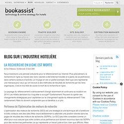 Blog sur l'industrie hotelière