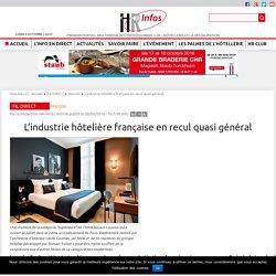 L'industrie hôtelière française en recul quasi général - HR Infos