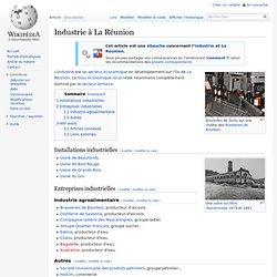Industrie à La Réunion