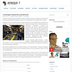 L'exemple industriel sud-africain
