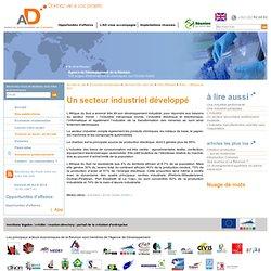 Un secteur industriel développé - Agence de Développement de la Réunion