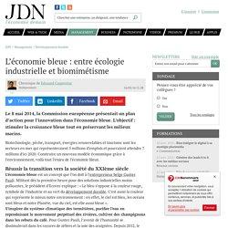 L'économie bleue : entre écologie industrielle et biomimétisme