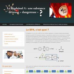 Le Bisphénol A : de l'innovation industrielle à la controverse sanitaire