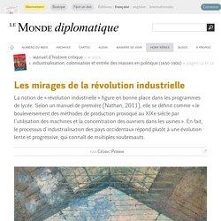 Les mirages de la révolution industrielle, par Cédric Perrin (Le Monde diplomatique, septembre 2014)