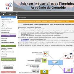 Les Sciences Industrielles de l'Ingénieur - Académie de Grenoble - Actualités