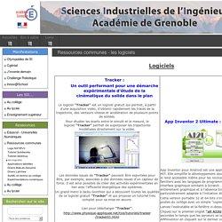 Académie de Grenoble - Ressources communes - Logiciels