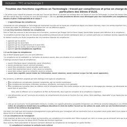 Les Sciences Industrielles de l'Ingénieur - Académie de Grenoble - Inclusion - TFC et technologie 2