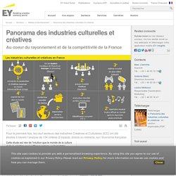 Panorama des industries culturelles et créatives