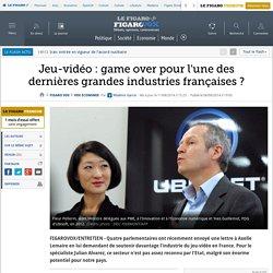 Jeu-vidéo : game over pour l'une des dernières grandes industries françaises ?