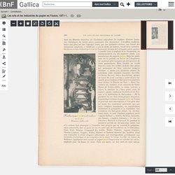 Les arts et les industries du papier en France, 1871-1894 / par Marius Vachon