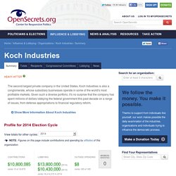 Koch Industries: Summary