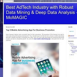 Top 5 Mobile Advertising App For Business Promotion