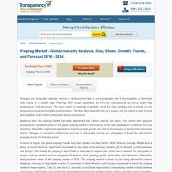 Prepreg Market - Global Industry Analysis and Forecast 2016 - 2024