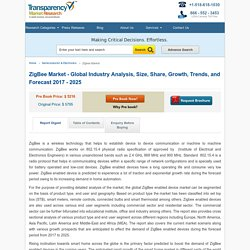 ZigBee Market - Global Industry Analysis and Forecast