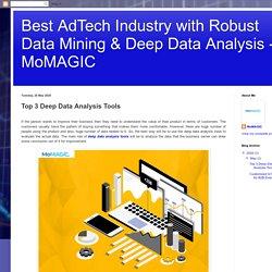 Top 3 Deep Data Analysis Tools