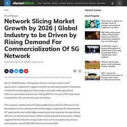 Global Industry to be Driven by Rising Demand For Commercialization Of 5G Network