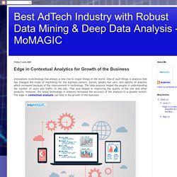 Edge in Contextual Analytics for Growth of the Business