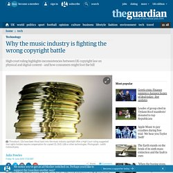 Why the music industry is fighting the wrong copyright battle