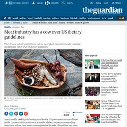 Meat industry has a cow over US dietary guidelines