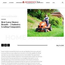 Best Lawn Mower Brands - 5 Industry Leading Companies