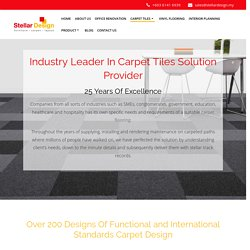Industry-leading Carpet Tiles Supplier - Only The Best Quality Carpet Tiles