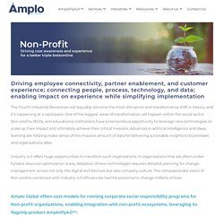 Industry 4.0 for Non-profit - Amplo Global Inc.