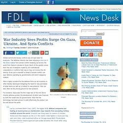 War Industry Sees Profits Surge